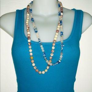 Semi Precious Stones Necklaces
